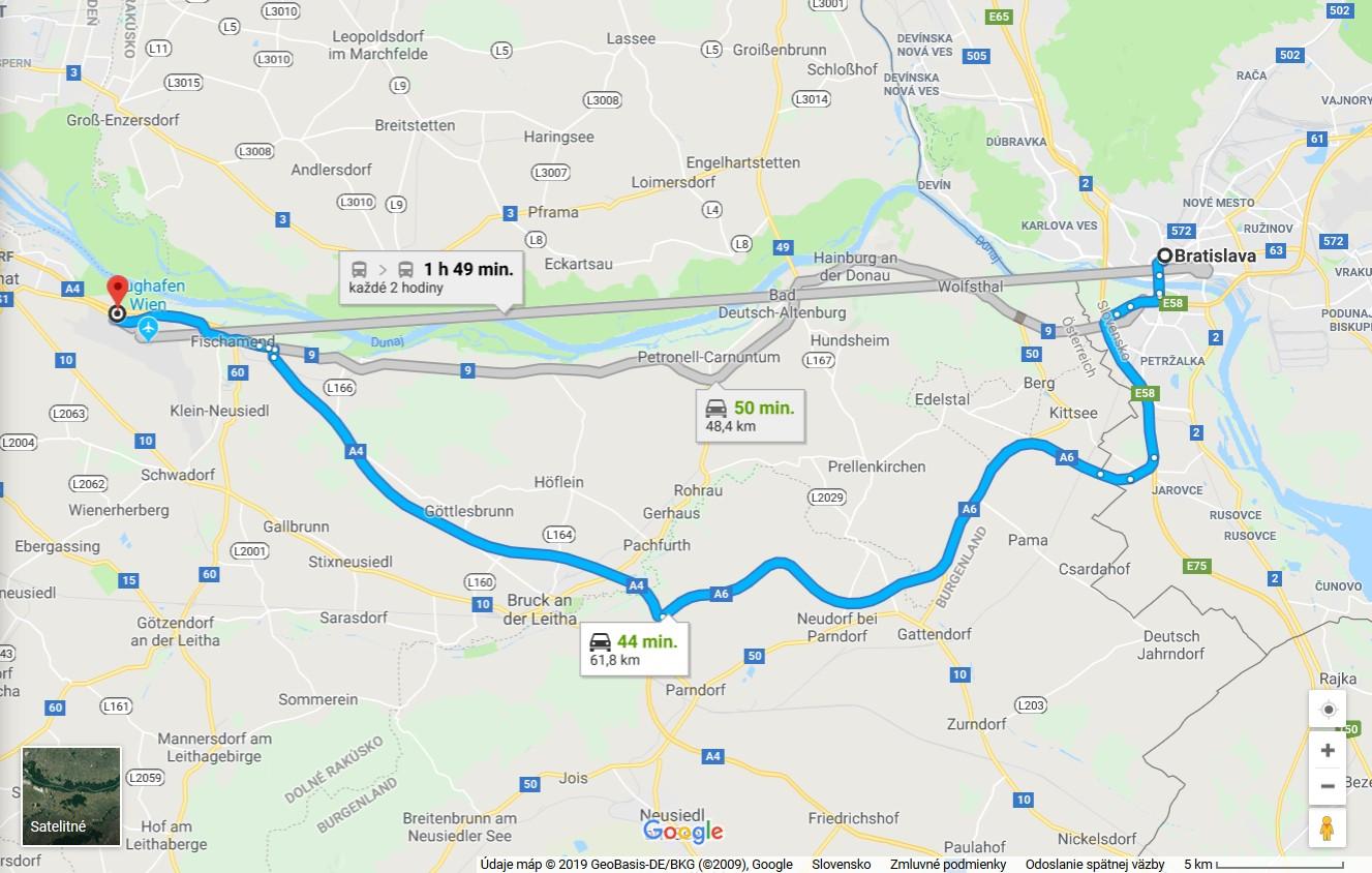 44f5c1c2c8f84 Cesta a parkovanie na letisku Viedeň - Schwechat - schwechattransfer.eu